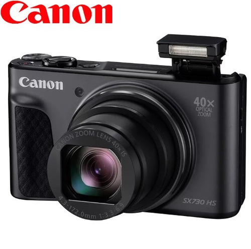 camara digital canon powershot sx730 hs zoom 40x 20.3mp full