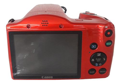 camara digital canon sx410 is  20 megapixeles color rojo