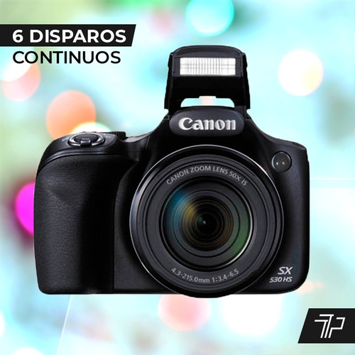 camara digital canon sx530 16mp full hd wifi+ bolso+ memoria