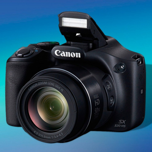 camara digital canon sx530 16mp full hd wifi+ memoria +bolso