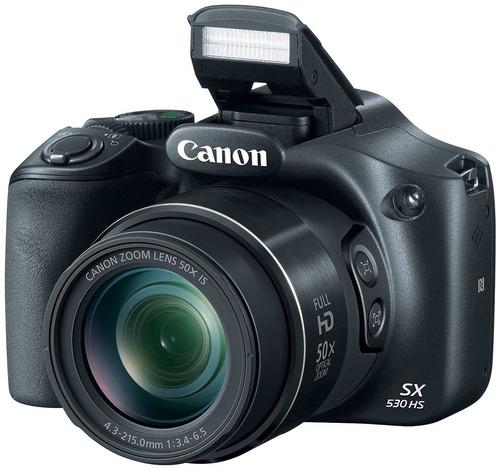 camara digital canon sx530 hs 16mp 50x zoom wifi