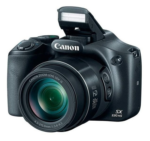 camara digital canon sx530 zoom 50x full hd wifi+ bolso + memoria 32gb clase 10