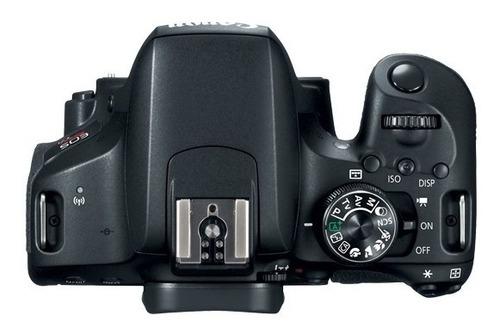 camara digital canon t7i 800d lente 18-55mm full hd 24.2 mpx