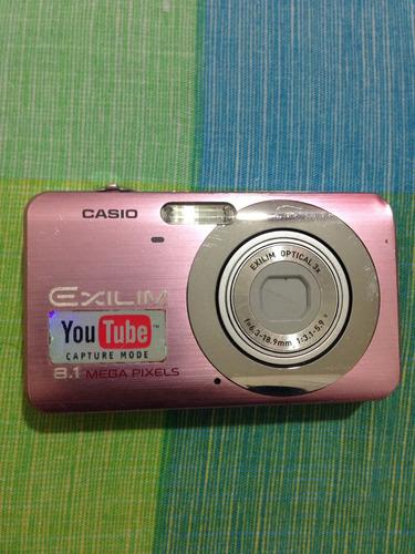 cámara digital casio exilim 8.1 mega pixels