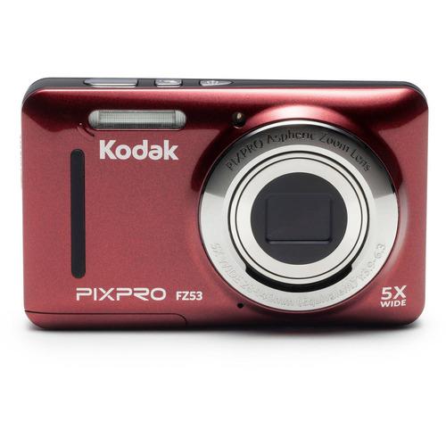 cámara digital compacta kodak pixpro fz53 16mp 5x zoom