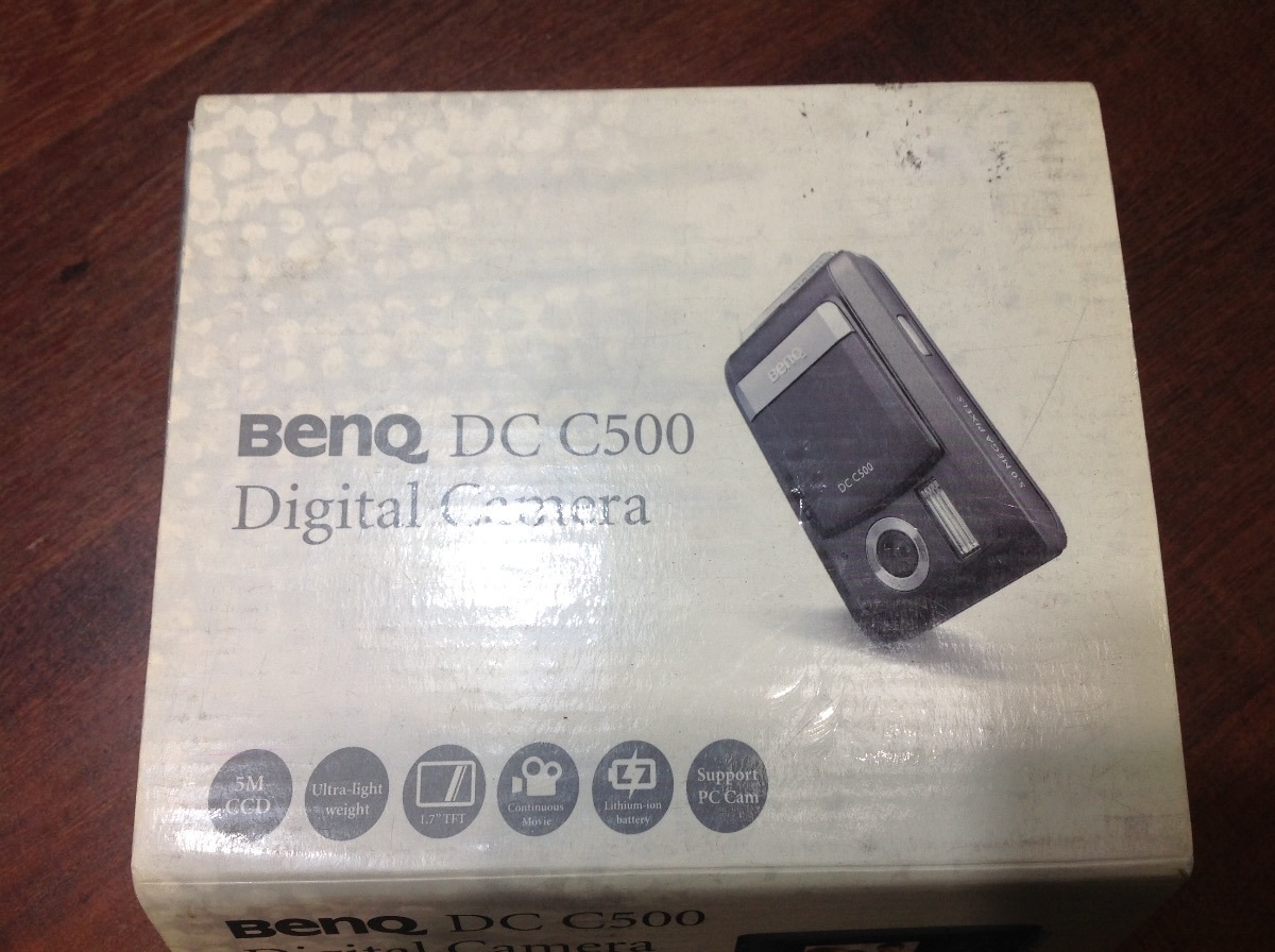 DRIVERS UPDATE: BENQ DIGITAL CAMERA DC-C500