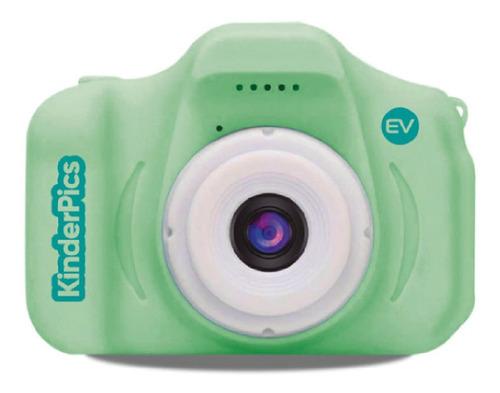 cámara digital ev mini-flex portátil para niños verde
