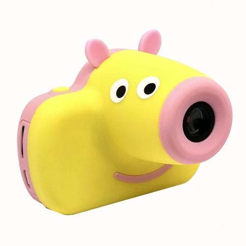 camara digital foto video lcd chicos regalo dia del niño pig