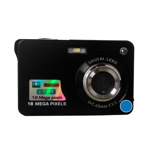 camara digital fotos y video 18 megapixeles zoom flash