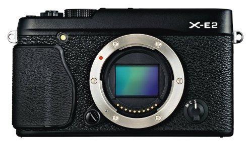 camara digital fujifilm x-e2 mirrorless digital camera (blac