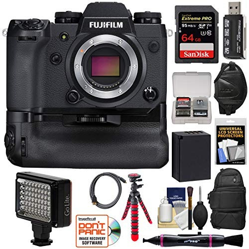camara digital fujifilm x-h1 wi-fi digital camera body & ver