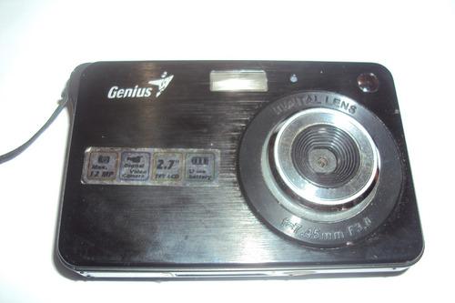 camara digital genius 12 mp