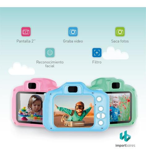 cámara digital hd niños niñas fácil uso filma alta resolucion audio saca fotos diseño antigolpes pantalla lcd bateria