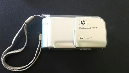 camara digital hp e327 5mp + forro + cable usb