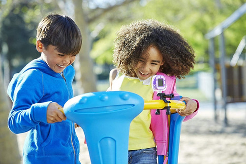 cámara digital infantil vtech toma fotos graba vídeo y voz