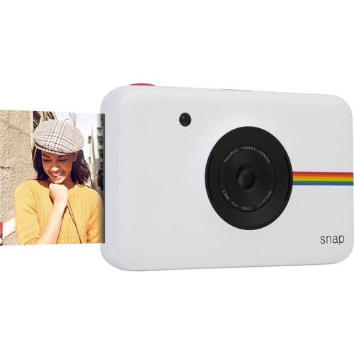 cámara digital instantánea polaroid snap (blanco) 10mp