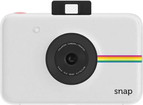 cámara digital instantánea polaroid snap (blanco) zink zero