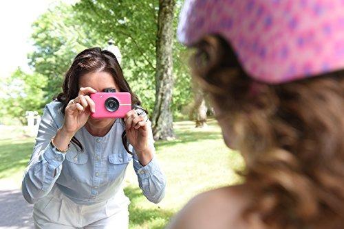 camara digital instantanea polaroid snap  rosa  con tecnolog