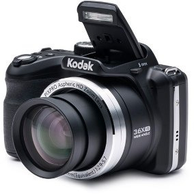 camara digital kodak az252 negra semi reflex 16mp hd oficial