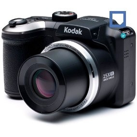 camara digital kodak az252 negra semi reflex 16mp hd oficial