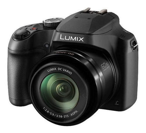 cámara digital lumix dc-fz80ppk + tripode