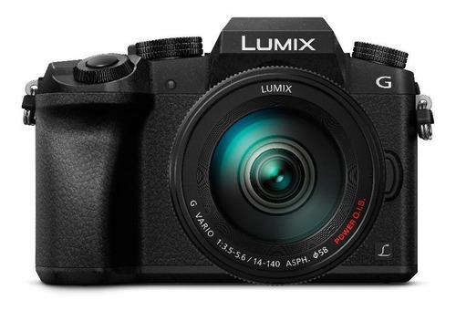 cámara digital lumix dmc-g7 + kit lente