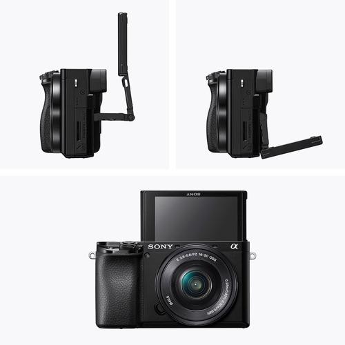 camara digital mirrorless sony ilce-6100 4k wifi nfc sel1650