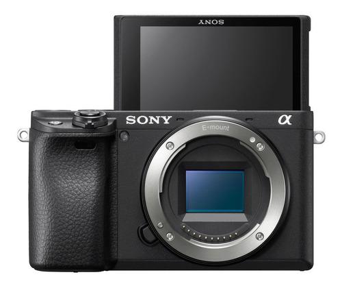 camara digital mirrorless sony ilce-6400 4k wifi/nfc sel1650
