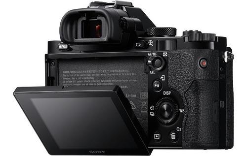 camara digital mirrorless sony ilce-7k kit lente sel2870 wifi/nfc full hd