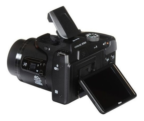 camara digital nikon b500 40x full hd wifi + memoria 32g c10