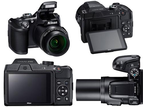 cámara digital nikon coolpix b500 negra envio gratis msi