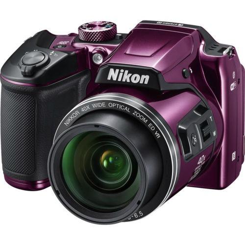 cámara digital nikon coolpix b500 (plum) 26507