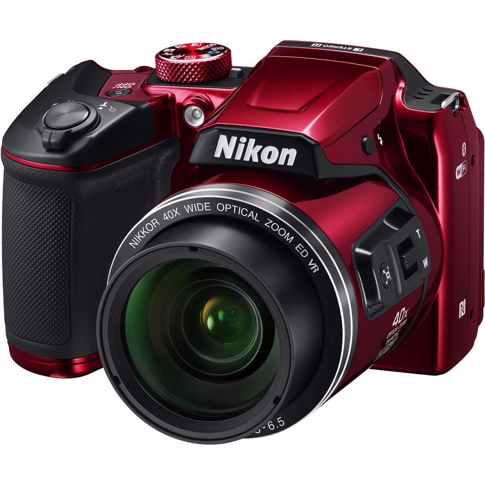 cámara digital nikon coolpix b500 - roja