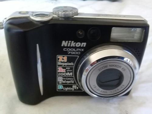camara digital nikon coolpix  e7900  usada 7.1 megapilxels