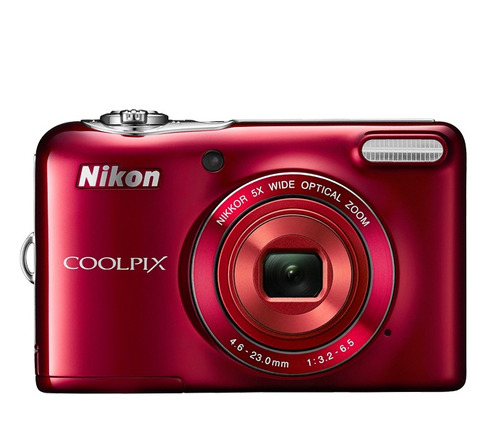 cámara digital nikon coolpix l30  20.1 mp, 5x recertificadas