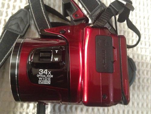 cámara digital nikon, coolpix l830, 16mpx, zoom 34x, 1080p