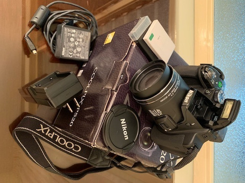 camara digital nikon coolpix p520