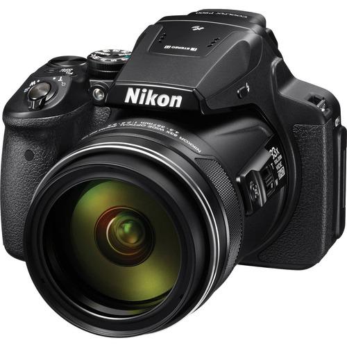 cámara digital nikon coolpix p900 super zoom 83x 16mp luna