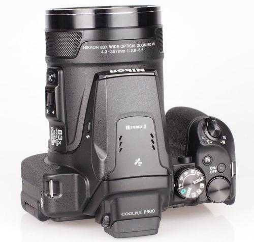 camara digital nikon coolpix p900 zoom 166x wi fi gps