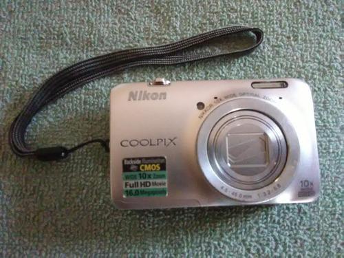 cámara digital nikon coolpix s6300