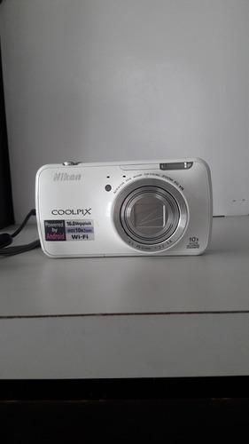 cámara digital nikon coolpix s800c 16 mp zoom óptico de 10x