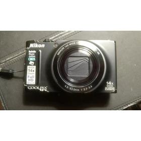 Camara Digital Nikon Coolpix S8200 Funciona Perfecto !!!!