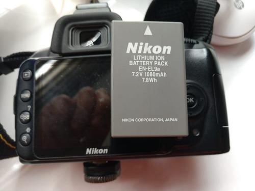 camara digital nikon d3000 excelente estado