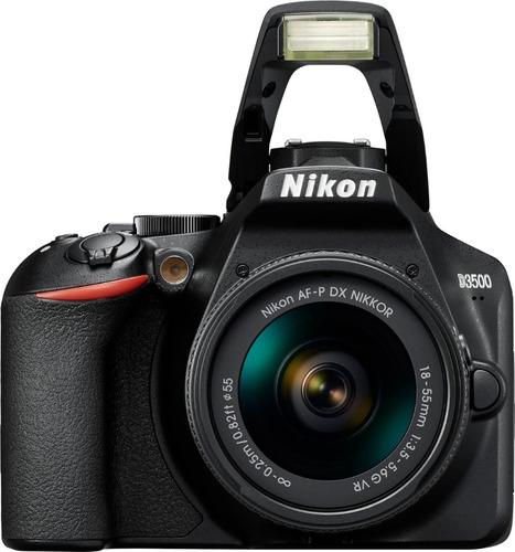camara digital nikon d3500 18-55mm vr cuotas s/interes