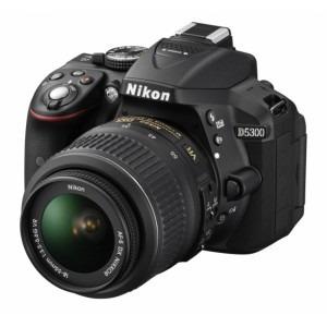 camara digital nikon d5300 kit 18-55 mm vr - mdp