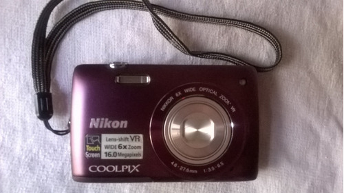 cámara digital nikon s4300 colpix touch screen