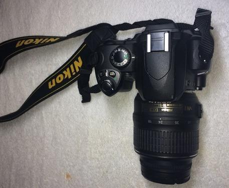 camara  digital nikon sir modelo d40x con lente nikkor dx