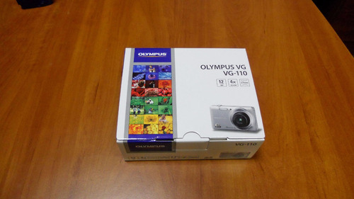 camara digital olimpus vg-110 12mp, lcd 2.7  + memoria de 8g
