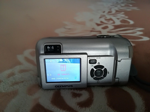cámara digital olympus d560