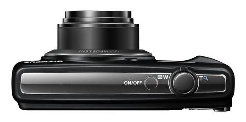 cámara digital olympus de 16mp modelo vr370, negro nueva